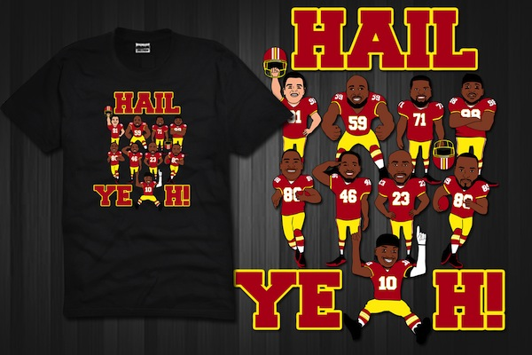 The hail yeah t shirt you gotta check this out the for Hail yeah redskins shirt