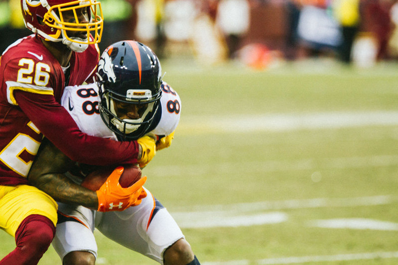 2017 Week 16:  Broncos at Redskins
