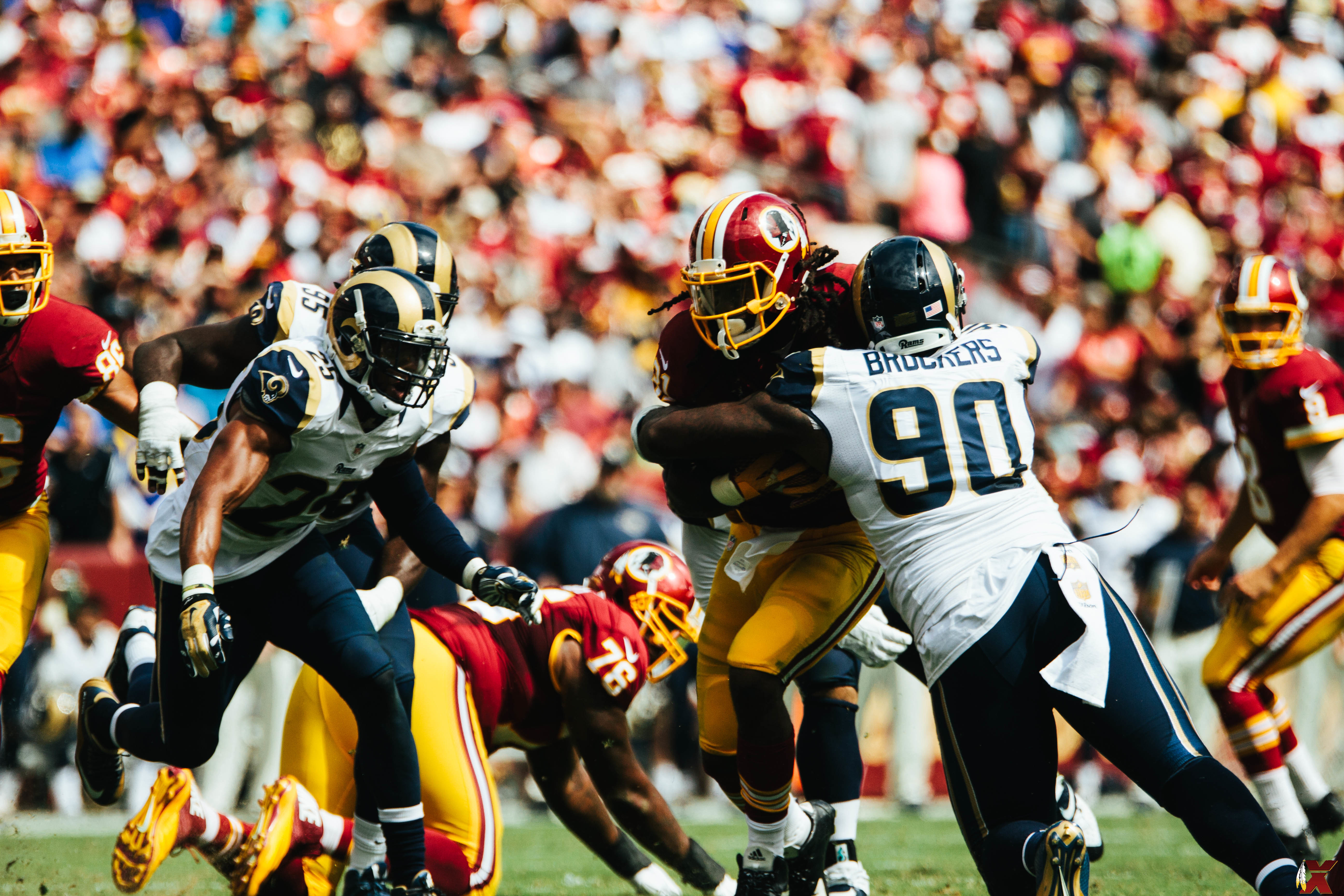 2015 Week 2: Rams at Redskins