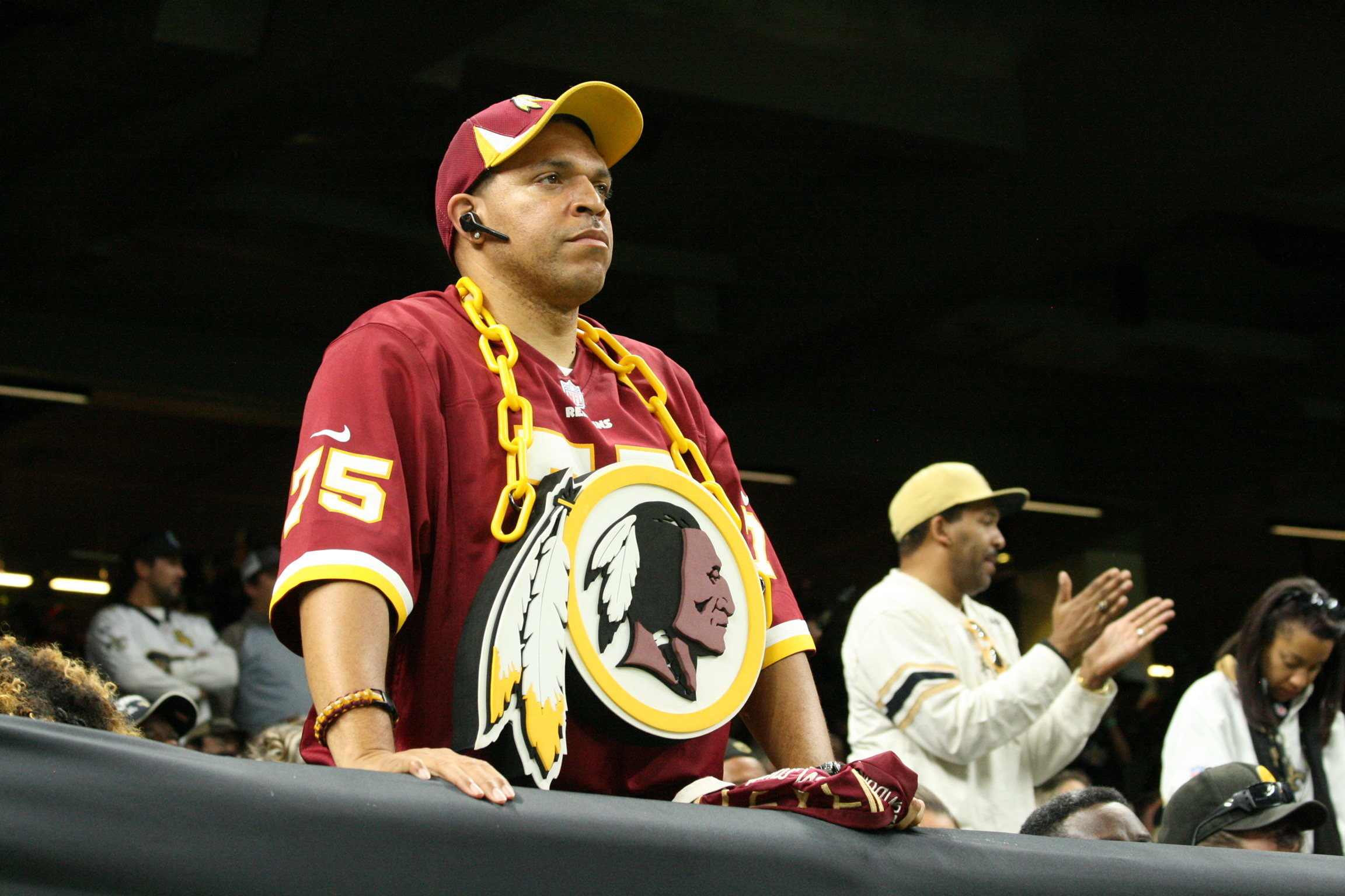 2017 Week 11: Redskins at Saints - The Fans