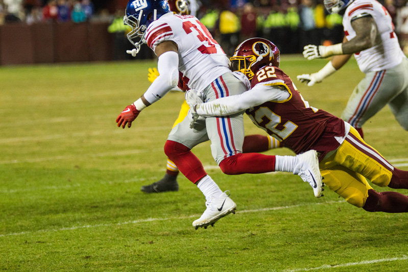 2017 Week 12 Giants @ Redskins Thanksgiving