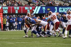 2018 Week 8 Redskins at Giants