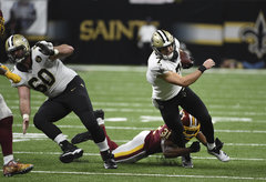 ES Coverage: 2018 Week 5: Redskins at Saints photos