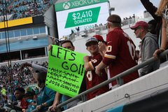 2018 Week 15: Redskins at Jaguars - Fan Gallery